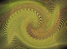 Abstract green picture. Abstract picture of interesting green shapes and lines Stock Images