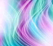 Abstract green pink background Stock Image