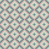 Abstract green pink pixel background Royalty Free Stock Images
