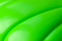 Abstract green plastic background Royalty Free Stock Photo