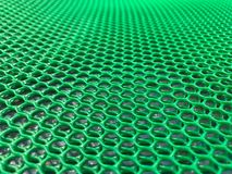Abstract image of plastic honeycomb mesh royalty free stock image