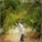 Abstract green polygonal background. Royalty Free Stock Photography