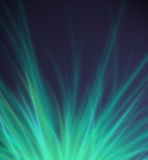 Abstract Green Rays Background Royalty Free Stock Photo