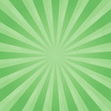 Abstract Green rays background. Vector EPS 10 cmyk.  Stock Image