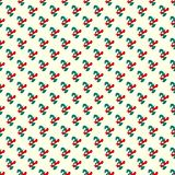 Abstract green and red objects on a light background seamless pattern. Quality illustration for your design vector illustration