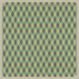 Abstract green retro pattern background, recycled paper craft Stock Images