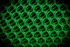 Abstract green retro plastic. Stock Photography