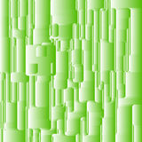 Abstract green rounded square background. Royalty Free Stock Photo