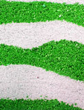 Abstract green sand stock image
