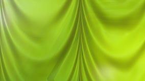 Abstract Green Satin Curtain Background. Beautiful elegant Illustration graphic art design royalty free illustration