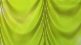 Abstract Green Satin Curtain Background Texture. Beautiful elegant Illustration graphic art design vector illustration
