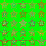 Abstract green seamless patterns Royalty Free Stock Photo