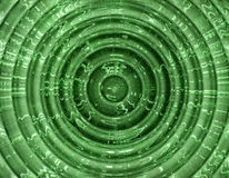 Abstract green shape Stock Photography