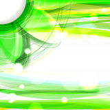 Abstract green shiny background Stock Photo