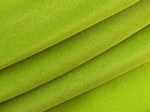 Abstract green silk fabric texture Stock Photos