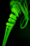 Abstract green smoke Royalty Free Stock Photography