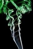 Abstract green smoke Royalty Free Stock Photo