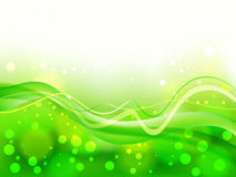 Abstract green soft focus background Stock Photo