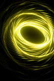 Abstract green spiral Royalty Free Stock Image