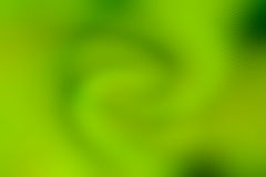 Abstract green spiral ripple blur wallpaper Royalty Free Stock Photo