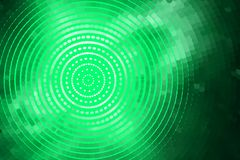 Abstract green spiral Royalty Free Stock Photography