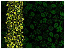 Abstract green spring background Royalty Free Stock Photos