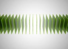 Abstract green square background Royalty Free Stock Photography