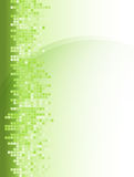 Abstract green square background Royalty Free Stock Photo