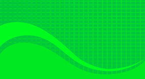 Abstract green square texture and curve Royalty Free Stock Image
