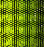 Abstract green squares Stock Images