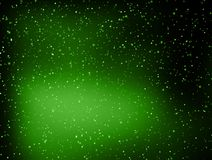 Abstract green dot space background. Royalty Free Stock Photo