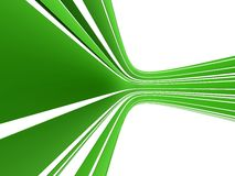 Abstract green stream Stock Photos
