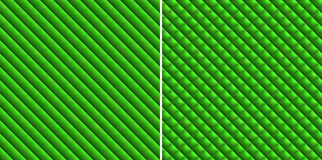 Abstract green striped and checkered background Stock Images