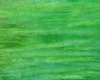 Abstract green stroke watercolor background. Stock Images