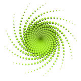 Abstract green swirl Royalty Free Stock Photos