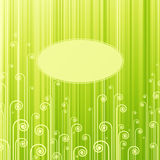 Abstract green swirls. Stock Photos