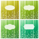 Abstract green swirls. Royalty Free Stock Photography