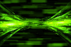 Abstract green tech background. Abstract dark green tech background royalty free illustration