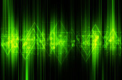 Abstract green tech background Royalty Free Stock Photography
