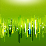 Abstract green tech template of cover Stock Photo