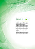 Abstract green template Royalty Free Stock Photo