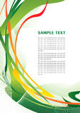 Abstract green template Stock Photo