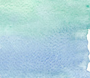 Abstract green tones watercolor textures background Stock Photo