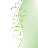 Abstract green tree background Royalty Free Stock Photos