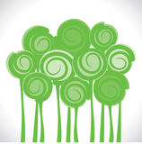 Abstract green tree background Royalty Free Stock Image