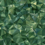 Abstract Green Triangle Background Royalty Free Stock Photos