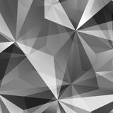 Abstract Green Triangle Background Stock Image