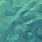 Abstract green triangle background Royalty Free Stock Image