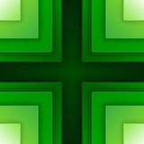 Abstract green triangle shapes background Royalty Free Stock Photography