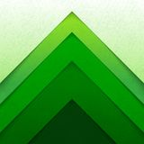 Abstract green triangle shapes background Stock Photo
